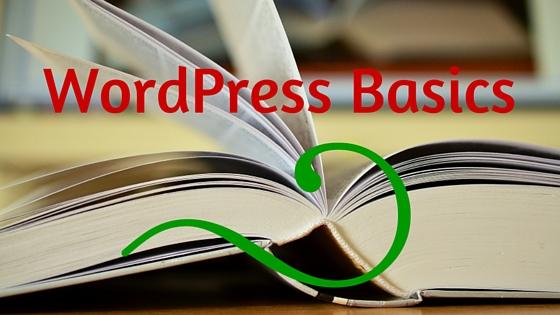 Login screen of wordpress, wordpress basics