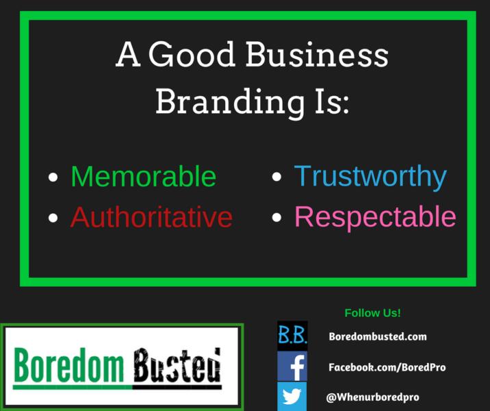 Good business branding, business brand tips